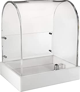 MCB Premium Modern Design Acrylic Ballot Donations Box for Fundraising, Voting or Suggestion Box, Ticket Raffles & Drawing...