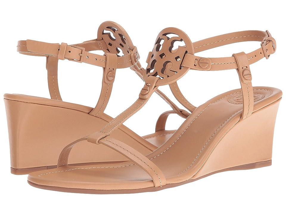 Tory Burch Miller 60mm Wedge Sandal (Dusty Cypress) Women