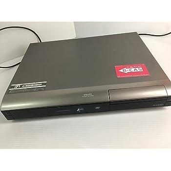 シャープ 250GB DVDレコーダー AQUOS DV-AC82