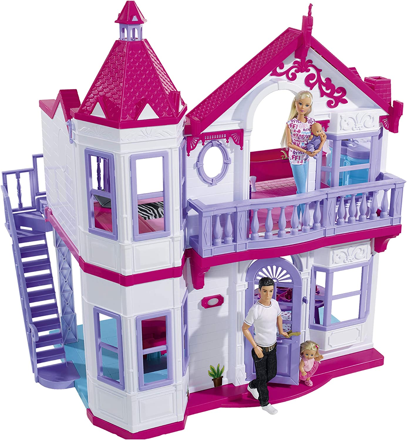 Simba Toys Japan Maker New - Steffi Love My with Ranking TOP8 4 Rooms Multi Dreamhouse