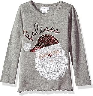 Baby Girls' Toddler Holiday Christmas Long Sleeve Tunic