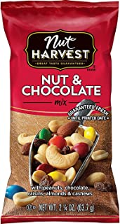Nut Harvest Nut & Chocolate Mix, 2.25 Ounce (Pack of 16)