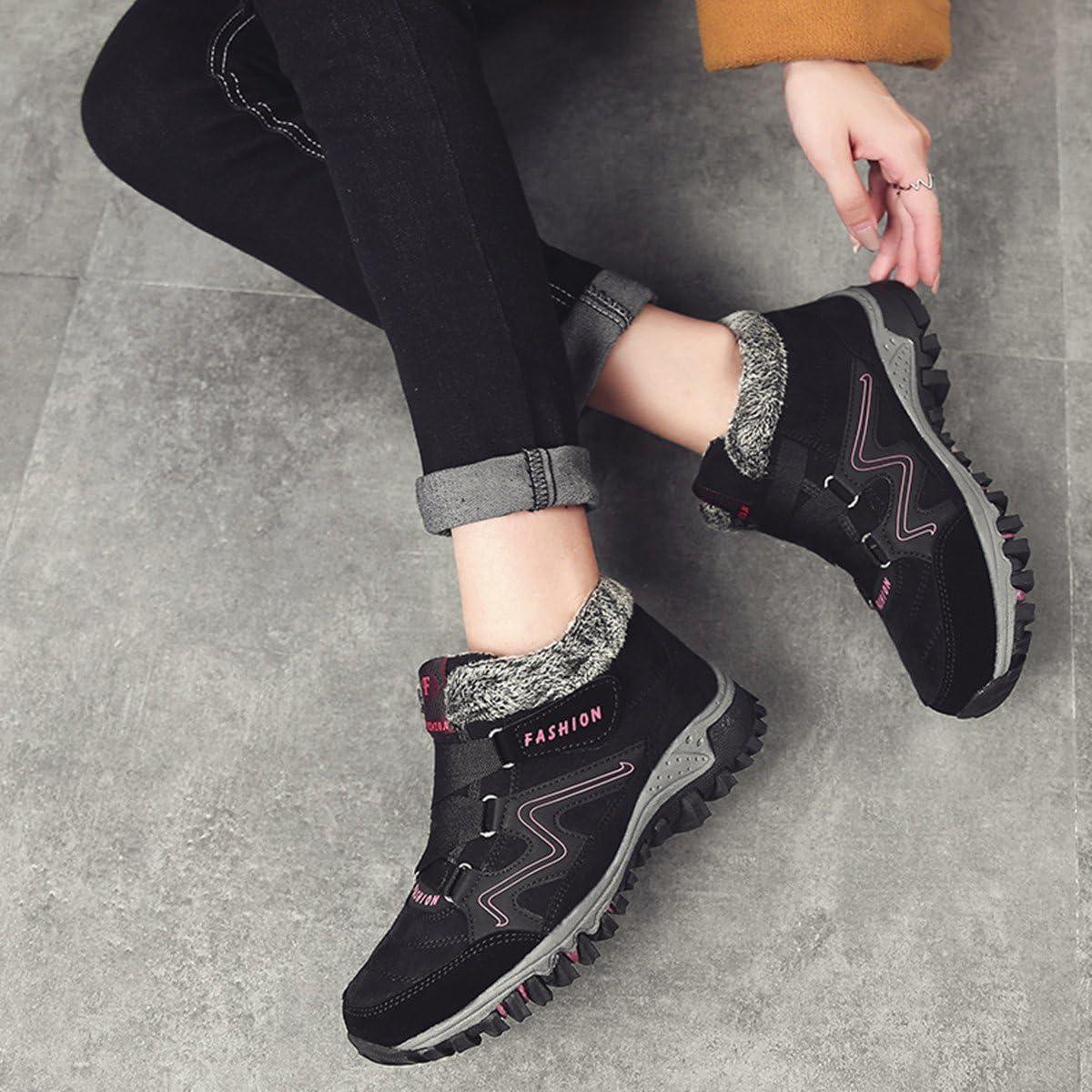 Warm Geftterte Sneakers Winter Boots Stiefel Flach Freizeitschuhe ...