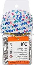 SINGER 47206 tarro de cocina de 2 pulgadas con tapa de cojín, multicolor, 100 unidades