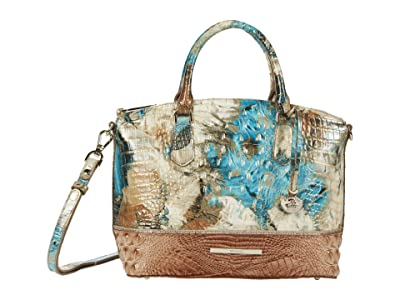 Brahmin Vitoria Duxbury Satchel (Bird of Paradise) Handbags