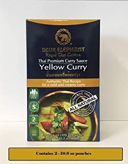 blue elephant yellow curry recipe