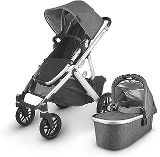 Vista V2 Stroller - Jordan (Charcoal/Silver/Black Leather)