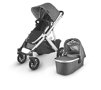 UPPAbaby VISTA V2 Stroller - JORDAN (charcoal/silver/black leather): image