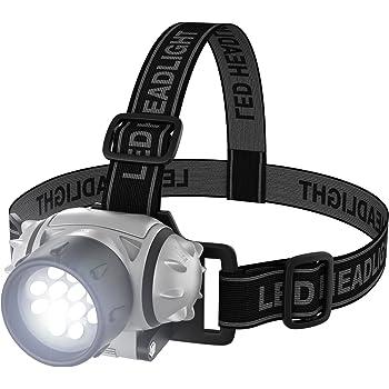 Stalwart 75-976 Led Headlamp Adjustable Headband for Kids and Adults
