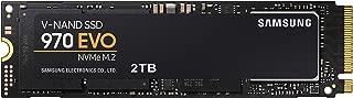 Samsung SSD 970 EVO 2TB - NVMe PCIe M.2 2280 SSD (MZ-V7E2T0BW)