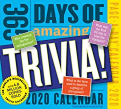 365 Days of Amazing Trivia! Page-A-Day Calendar 2020 [5.5