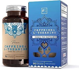 FS Cafeina y L Teanina 100mg / 250mg. 90 Capsulas Veganas