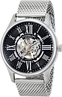 "Stuhrling Original Men's 747M.02""Classic Atrium Elite"" Automatic Stainless Steel Watch"