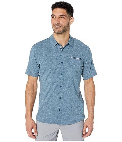 PUMA Golf Tradewinds Shirt (Gibraltar Sea Heather) Men