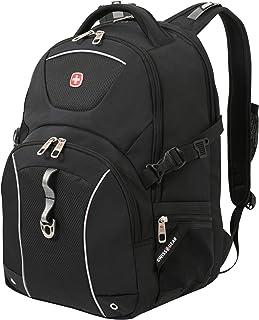 SWISSGEAR Durable 15-inch Laptop Backpack   Secure Computer Sleeve   Travel, Work, School   Men's and Women's - Black