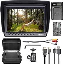 Neewer F100 Camera Field Monitor Kit:7 inches Ultra HD 1280×800 IPS Screen Field..