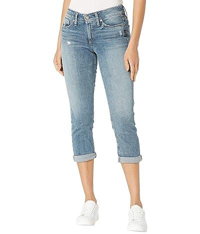 Silver Jeans Co. Suki Mid-Rise Capri Jeans L43916SJL276 (Indigo) Women