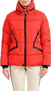 Moncler Women's FDIXENCE Down Red Ski Parka Jacket Sz 0 US XS