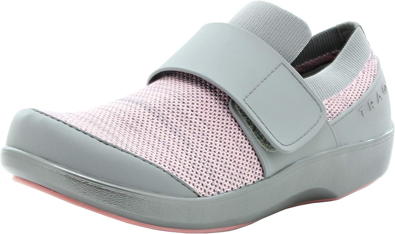 Alegria TRAQ Qwik Womens Smart Walking Shoe Pink Multi 7 M US