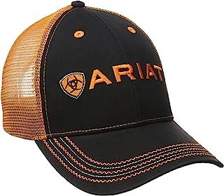 قبعة شبكية برتقالية للرجال من Ariat
