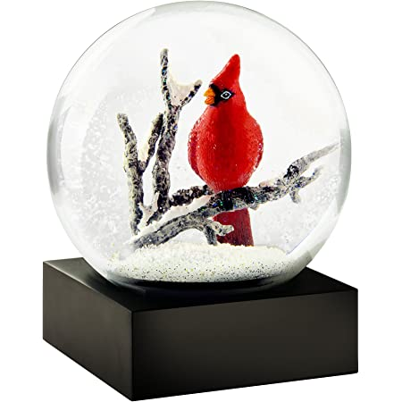 CoolSnowGlobes Cardinal Cool Snow Globe