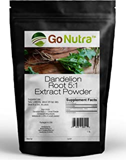 Sponsored Ad - Dandelion Root Powder 5:1 Extract 5X Times Stronger Non-GMO 1lb