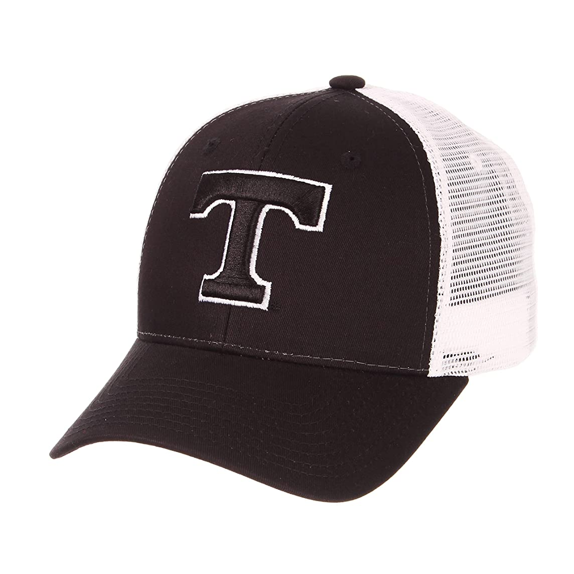 Zephyr University of Tennessee Volunteers Vols Black Big Rig Mesh Trucker Adult Mens/Boys Adjustable Baseball Hat/Cap