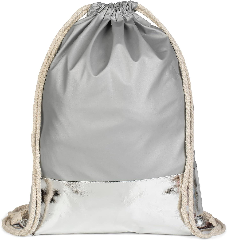 unisex 02012052 Fucsia-Bianco//Marino Rosa colore: borsa da sport styleBREAKER zaino sportivo dal design marinaresco a righe con stampa di ancora