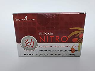 NingXia Nitro Cognitive Fitness 14- 0.68fl oz ( 20ml) Tubes by Young Livng Essential Oils
