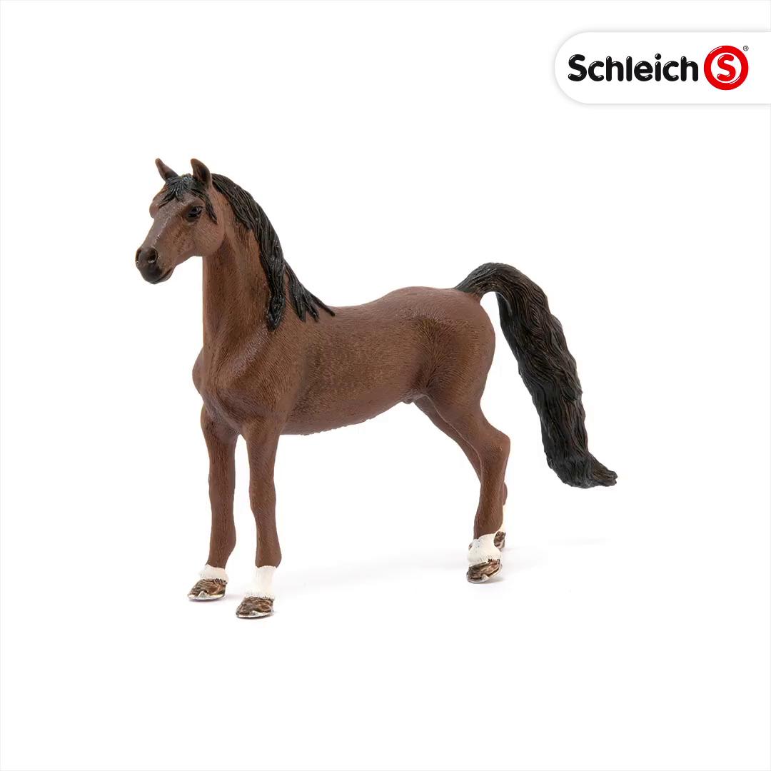 caballo personaje dentro del juego l 13.4 CM caballo de deporte 13833 Schleich Tennessee walker yegua