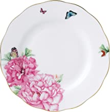 "Royal Albert Friendship Collection Bread & Butter Plate, 6"", Mostly White with Multicolored Print"
