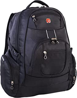 e488a15571a6 Swiss Gear International Carry-On Size Laptop Backpack - Holds Up to  17.3-Inch