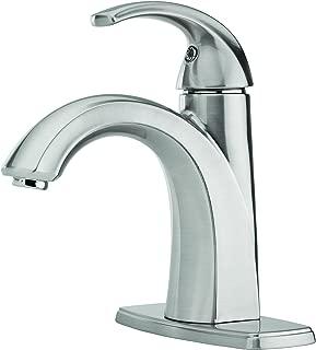 Pfister F-042-SL Selia Single Hole Bathroom Sink Faucet, Brushed Nickel