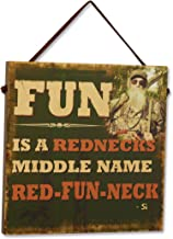 Big Sky Carvers Duck Commander Red-Fun-Neck Sign