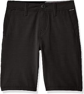 "Volcom boys Frickin Snt Slub 18"" Hybrid 4 Way Stretch Short Casual Shorts"