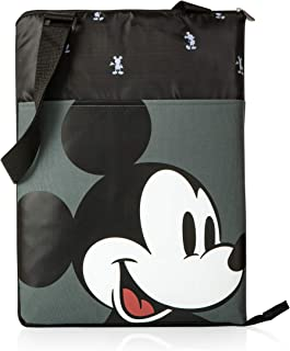 PICNIC TIME Disney Classics Mickey Mouse Vista Outdoor Picnic Blanket Tote Black, One Size