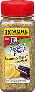 McCormick Perfect Pinch Lemon Pepper Seasoning, 11.37 oz (Packaging May Vary)
