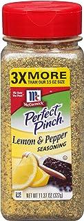 Best McCormick Perfect Pinch Lemon Pepper Seasoning, 11.37 oz (Packaging May Vary) Reviews