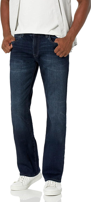 Buffalo David Bitton outlet 4 years warranty Men's Slim King Jeans Boot