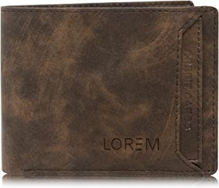 LOREM Brown Leather Men's Wallet