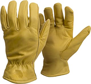American Made Genuine Elkskin Leather Work Gloves , 950, Size: Large