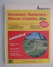 Hagstrom Somerset/Hunterdon/Mercer Counties New Jersey Laminated Atlas