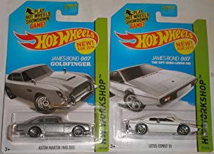 Hot Wheels Hw Workshop James Bond 007 - Lotus Esprit S1 & Aston Martin 1963 DB5 Set of 2