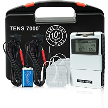 TENS 7000 2nd Edition Digital TENS Unit with Accessories