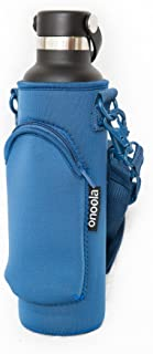 Onoola 24oz Pocket Carrier for Hydro Flask Type Bottles with Adjustable Straps (Neoprene Sleeve/Pouch)