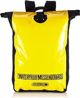 Ortlieb F2302 Messenger Bag, Yellow-Black, 50 cm x 39 cm x 15 cm, 39 Litre