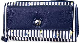 Bulk Cargo Womens RFID Wallet Clutch Zip Around Organizer (Bathing Beauty)