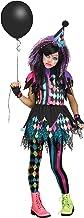 Girls Twisted Circus Clown Costume