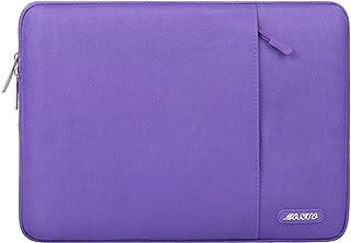 MOSISO Funda Protectora Compatible con MacBook 12 Pulgadas con Pantalla Retina A1534 (Lanzamiento 2017/2016/2015), Poliéster Bolsa Vertical Estilo Repelente de Agua Caja, Ultra Violeta
