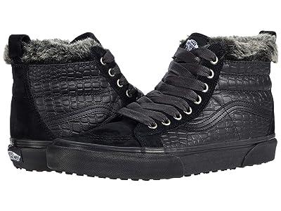 Vans SK8-Hi MTE ((Croc MTE) Black/Black) Skate Shoes